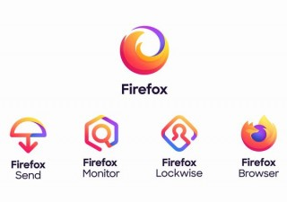 Firefox、柔軟性や複数サービスのファミリー全体を表す新しいロゴ群を発表