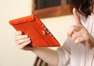 本物志向とかわいらしさが同居した、栃木レザーのiPad mini専用ケース(2019年モデル)発売