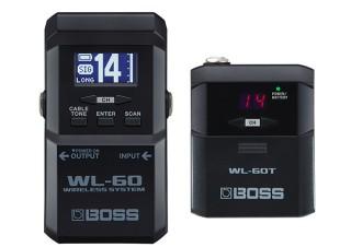 ローランド、ギターとアンプをつなぐケーブルをなくせる小型のワイヤレスシステム「WL-60」を発売