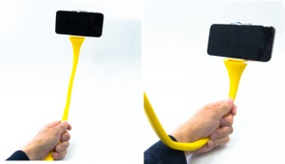 上海問屋、バナナ風の自撮り棒兼スマホホルダーを発売