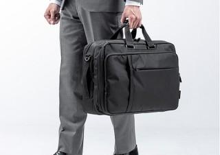 サンワサプライ、スーツケースのように着替え収納ができる3WAYビジネスバッグを発売