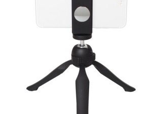 ハクバ、グリップとしても使えるミニ三脚「eポッド グリップ モバイルホルダーセット」を発売