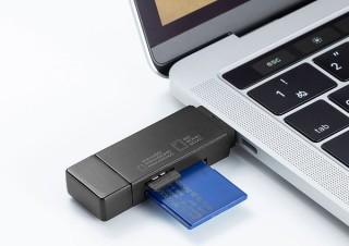サンワサプライ、USB Type-Cコネクタを備えた2種のmicroSDカードリーダーを発売