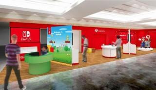 ゲームが無料で遊べてマリオ像と記念撮影もできる「Nintendo Check In」が成田空港にオープン