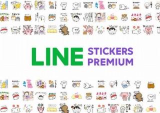 LINE、月額240円(学生120円)で有料クリエイターズスタンプが使い放題のサブスク発表