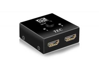 テック、4K60Hz HDRに対応した2入力HDMI切替器を発売