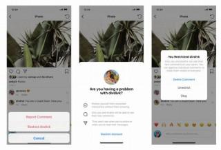 Instagram、オンラインいじめ撲滅のためにコメント警告や表示制限機能を発表