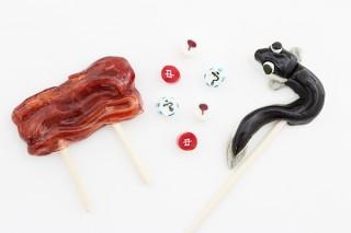 パパブブレ、うなぎと蒲焼きデザインのアートキャンディを発売