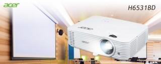 エイサー、3500ルーメンの高輝度設計でフルHD対応のプロジェクターを発売
