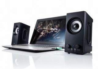 サンワサプライ、最大出力6Wで低音域強調サウンドの「USB電源スピーカー」発売
