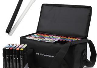RAYWOOD、マーカーペンセット「THE PEN for Designer」の168色モデルを発売