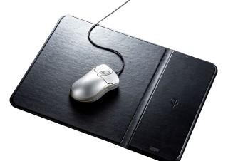 サンワサプライ、Qi規格対応のワイヤレス充電機能付きマウスパッドとマウスを発売