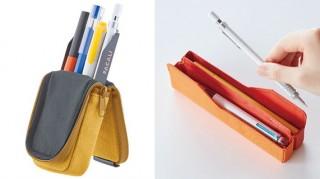 キングジム、机の上で場所をとらない機能性ペンケース「PACALI(パカリ)」タテオキ&ヨコオキ発売