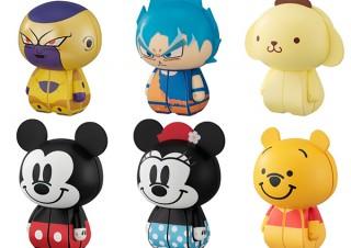 メガハウス、ミッキーマウスやブルー孫悟空が立体パズルCharaction CUBEに登場