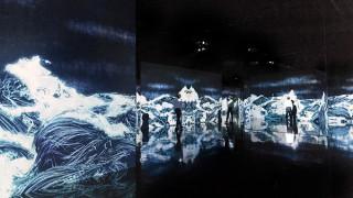 金沢21世紀美術館でチームラボの個展「永遠の海に浮かぶ無常の花」がスタート