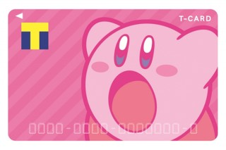 人気ゲームキャラクター「星のカービィ」とコラボレーションしたデザインのTカードが登場