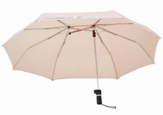 相合い傘専用? ワイドに開く折りたたみ傘「Sharely(シェアリー)」がヴィレヴァンに登場