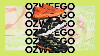 アディダス オリジナルス「OZWEEGO」とクリエイターのコラボ企画「MUTATION(突然変異)」に、JUN INAGAWAと河村康輔が参加。新色10カラーも登場。