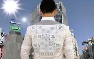 40度の炎天下環境を25度に保つ、世界初AI搭載ジャケット「Smart Cool Jacket」