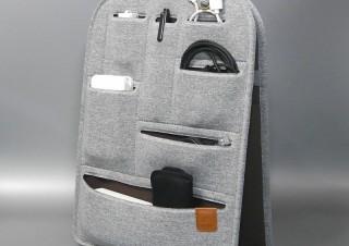 荷物の移し替えが容易、ノートPCやタブレットも入るリュック型対応のインナーバッグ