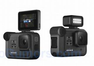 GoProの新モデル「Hero 8」の性能とマイクやLEDライトなどの新アクセサリがリーク
