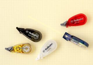 デルフォニックス、方眼におさまるクリーム色の「ロルバーン修正テープ」発売