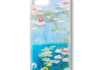 パルコがプロデュースしたモネの「睡蓮」をモチーフとしたiPhoneケースが好評販売中