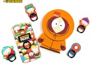 アニメ「サウスパーク」とコラボしたiPhoneケースやスマホリングがサンキューマートで発売