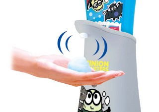 ミューズ、ミニオン限定デザインのノータッチ泡ハンドソープを発売