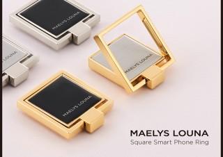 CCCフロンティア、上品に輝くスマホリングSquare Smart Phone Ringを発売