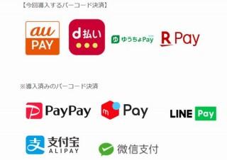 7payをあきらめたセブンイレブン、外部のau PAYやd払いなど4サービスに対応開始と発表