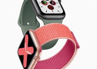 アップル、ディスプレイが常時オンの「Apple Watch Series 5」を発表