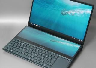 2画面搭載のモンスターノートPC「ZenBook Pro Duo」は性能もモンスター級?