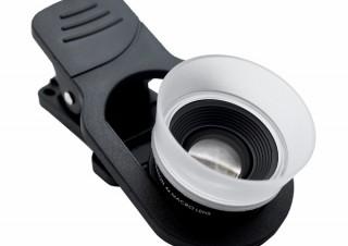 ケンコー、スマホでマクロ撮影が可能になる「リアルプロクリップレンズ 超接写6倍」を発売