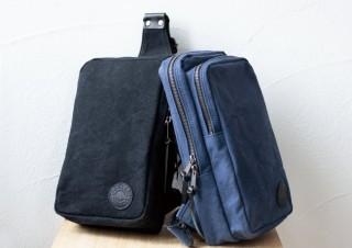 タケヤリ、帆布の老舗が開発したワンショルダーの再入荷販売を発表