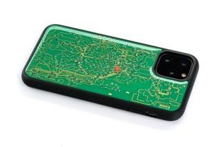 電子技販、本物の電子回路が組み込まれた基盤製のiPhone 11用ケースを発売