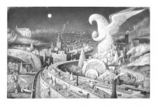 2010年に短編アニメでアカデミー賞を受賞したショーン・タン氏の展覧会「どこでもないどこかへ」