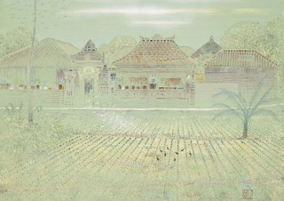 現代の日本画壇を牽引する吉村誠司氏の作品を紹介する個展「硝子を透して」