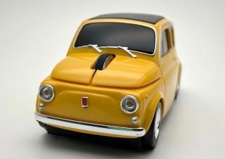 フェイス、旧車を再現した無線マウスFiat 500 Nuovaを発売