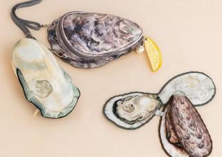 フェリシモ、リアルに牡蠣を再現したポーチ付きショルダーバッグを発売