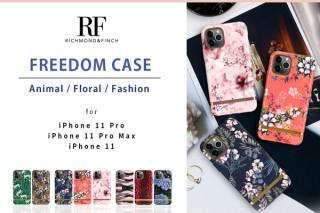 Richmond&Finch、動物や花柄デザインのiPhone 11用ケースを発売