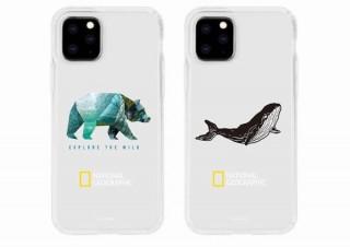 ロア、ナショナルジオグラフィックのロゴと動物イラスト入のiPhone 11ケース発売