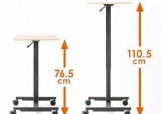 座り作業と立ち作業を簡単に切り替えられる「パーソナル昇降デスク」発売