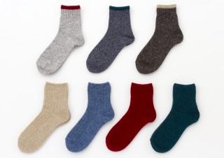 インテリアショップ「KEYUCA」の日本製298円靴下に、秋冬らしいカラーなど新作33種が仲間入り