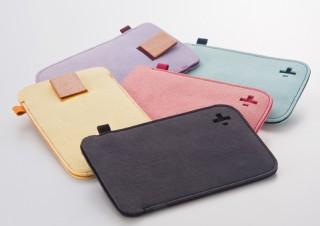 トリニティ、マイクロファイバー素材を使った新型iPod touch用ケースとケーブルクリップのセット
