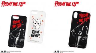 サンキューマート、「13日の金曜日」ジェイソンとのコラボiPhoneケースとスマホリングを発売
