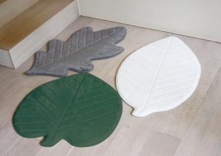 スパイス、秋らしいナチュラルデザインの玄関マット「ソフトリーフマット」を発売