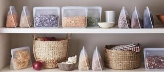 環境にも人にも優しく、手軽に調理もできる、プラスチックフリーの食品用保存容器「stasher」に新作が登場