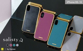 Hamee、上品なデザインと米軍用規格準拠の耐衝撃性を備えたiPhoneケース発売