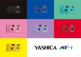 ヴィレヴァン、YASHICA生誕70周年記念のフィルムカメラYASHICA MF-1を発売